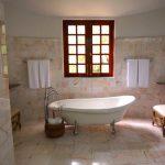 Badrenovierung freistehende Badewanne