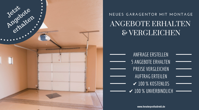 Garagentore Vergleichen Kaufen Garagentor Einbau